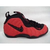 Nike Air Foamposite Black Red