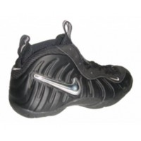 Nike Air Foamposite Black Silver