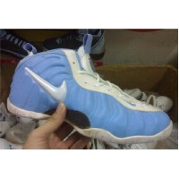 Nike Air Foamposite Light blue  White
