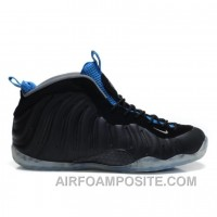Nike Air Foamposite One Black Varsity Royal
