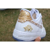 Air Force 1 Chinese New Year White Gold Peony Discount Sw4F4tA