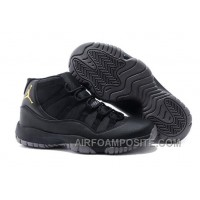 Charcoal Black And Gold Jordan 11 Men Basketball Shoes Free Shipping Super Deals PkEYiBs