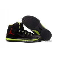 2017 Air Jordan XXX1 Black Green Red Basketball Shoes New Style EyTAS