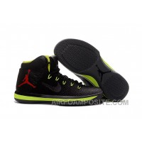 2017 Air Jordan XXX1 Black Green Red Basketball Shoes Copuon Code HCWxy