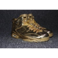 Air Jordan 6 All Gold Lastest Kxj5j