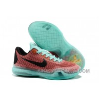 New Men's NK Kobe 10 X Easter Elite Low Basketball Shoes