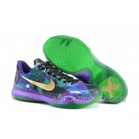Men's NK Kobe 10 X Elite WBC Low Basketball Shoes New