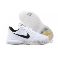 Men's NK Kobe 10 X ID Low Basketball Shoes Beethoven White New