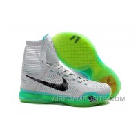 Cheap Nike Zoom Kobe 10 Elite Elevate XDR Top High Wolf Grey Flyknit