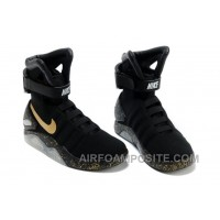 Nike Air Mag Back To The Future Limited Edition Shoes Black Gold New Release 28r88