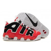 Nike Air More Uptempo Red Black White