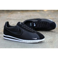 Nike Classic Cortez X LIBERTY Solid Black Online ZTwPa