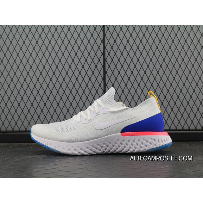 USD  89.62  259.90. Woven Version Nike Epic React Flyknit Foamposite  Particles Running Shoes AQ0067-101 ... f9355d37ab