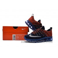 2017 New Kids Nike Flyknit Zoom Air Blue Orange Red Free Shipping A4NJ6BP