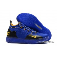 Nike KD 11 Purple Black Yellow Kevin Durant's Basketball Shoes New Year Deals