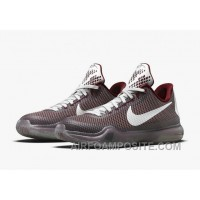 Discount Authentic Kobe 10 Team Red Cool Grey White Metallic Cool Grey New