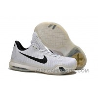 New Arrival Legimate Cheap Kobe 10 White Black Metallic Gold