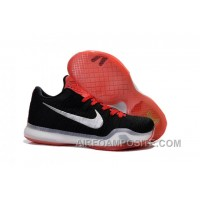 Nike Kobe 10 Elite Black Red Hot