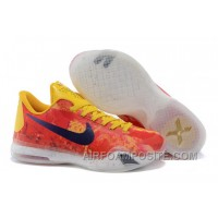 """Kobe 10 ID """"Sgt. Mamba"""" Yellow/Multi-Color For Sale New Arrival"""