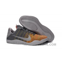 "Online Kobe 11 Elite Low ""Cool Grey"""