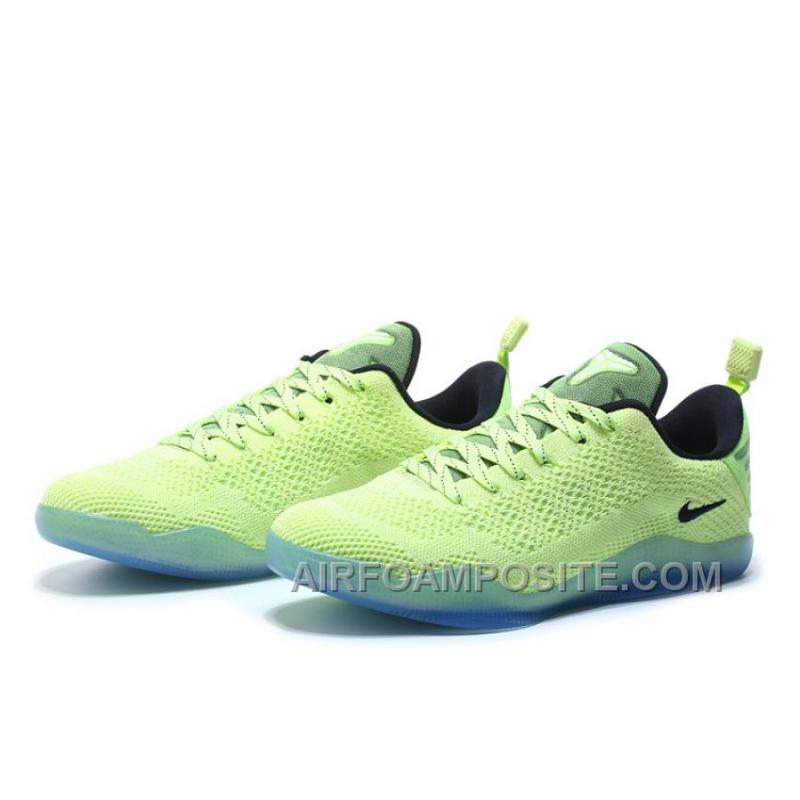 cheap nike kobe 11 elite low �christmas� liquid limedark