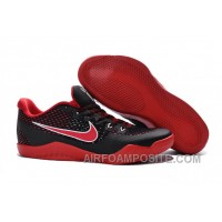 Nike Kobe 11 EM Black Red Basketball Shoes New Arrival