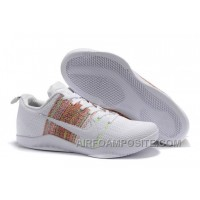 "Nike Kobe 11 Elite ""4KB"" White Horse/Multicolor 2016 New"