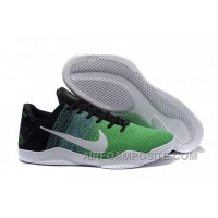 Nike Kobe 11 Green Black White For Sale Online New
