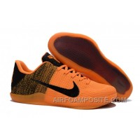 Nike Kobe 11 Elite Orange/Black Basketball Shoes For Sale Discount