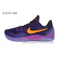 Nike Zoom Kobe Venomenon 5 Purple Orange Hot