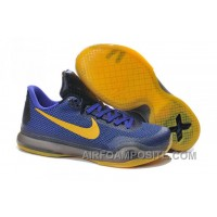 Nike Kobe X 10 EM Lakers New