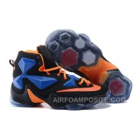 Nike LeBron 13 Black Blue Orange 58dMr