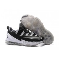 2016 Nike LeBron 13 Low Black Silver For Sale R64FY