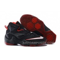 Lebron 13 XIII Low Bred Black University Red ABtTz