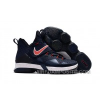 Nike LeBron 14 SBR Navy Blue Red Authentic