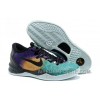 New Nike Zoom Kobe 8(VIII) Easter Fiberglass/Court Purple-Black-Laser Purple
