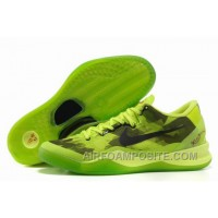 854-215547 Nike Zoom Kobe 8 VIII Shoes Official Green Black New Arrival