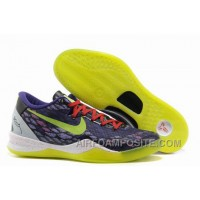 854-215542 2013 New Nike Zoom Kobe 8 Shoes Purple Green Cheap