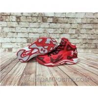 Under Armour Anatomix Spawn 2 Red Black Sneaker Free Shipping Rkisdy
