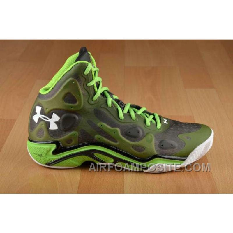 Cheap Under Armour Micro G Anatomix Spawn 2 Wholesale Green Black White New Style JjtKM