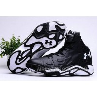 Authentic Under Armour Micro G Anatomix Spawn 2 Black White Free Shipping WQG7Smb