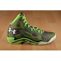 Cheap Under Armour UA Micro G Anatomix Spawn 2 Green Black White New Style AcWPR