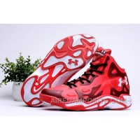 Cheap Under Armour UA Micro G Anatomix Spawn 2 Red White Authentic HYGB7