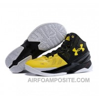 Under Armour Stephen Curry 2 Shoes Black Yellow ERt4A