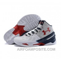 Under Armour Stephen Curry 2 Shoes Black White Red EdasJ