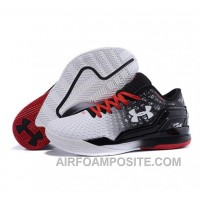 Under Armour ClutchFit Drive Low Stephen Curry Shoes Black White YRhsA