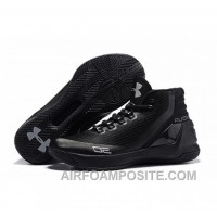 Under Armour Stephen Curry 3 Shoes Black Silver 4PbkY