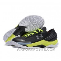 Under Armour Stephen Curry 2 Shoes Low Yellow Black FB4E3