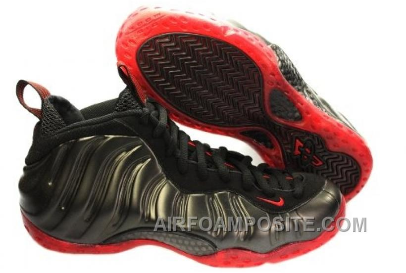 the latest 8066e 9c600 Nike Air Foamposite One LE Cough Drop Black Varsity Red 314996-006 For Sale