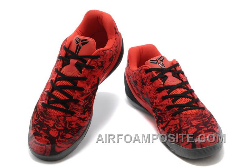 Nike Kobe 9 Low EM XDR Red Black For Sale Online New f6e201584688